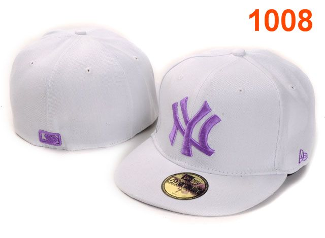 New York Yankees MLB Fitted Hat PT02